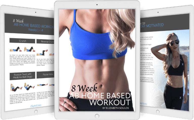 8 Week Ab Home Workout eBook